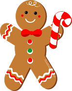Gingerbread Man Running Clip Art Gingerbread Clipart Package