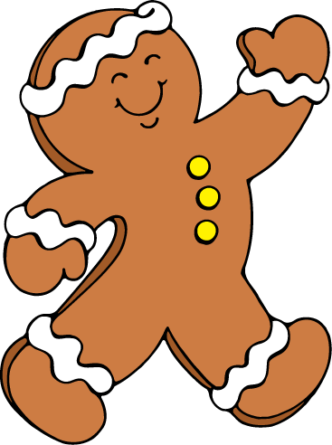 Gingerbread Man Running Clipart   Cliparthut   Free Clipart