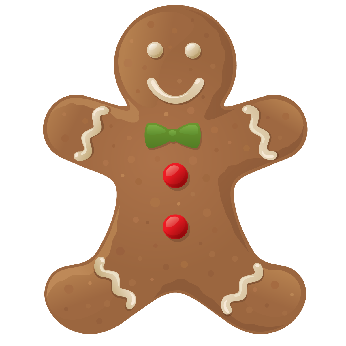 Gingerbread Men Clipart - Clipart Kid