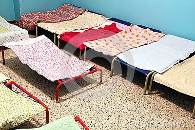 Images Of   Dormitory With Small Beds To Sleep Nursery Children