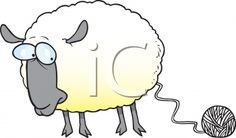 Knitting Clip Art Royalty Free Sheep Clipart More Spinning Knits Sheep