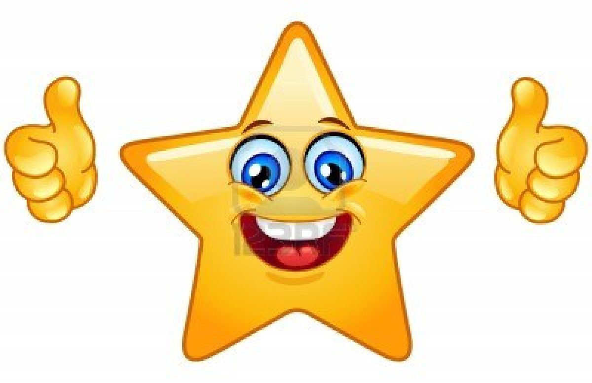Star Face Clipart - Clipart Kid