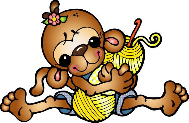 Crocheting Clipart : white crochet needles clipart clipart kid crochet hook clipart ...
