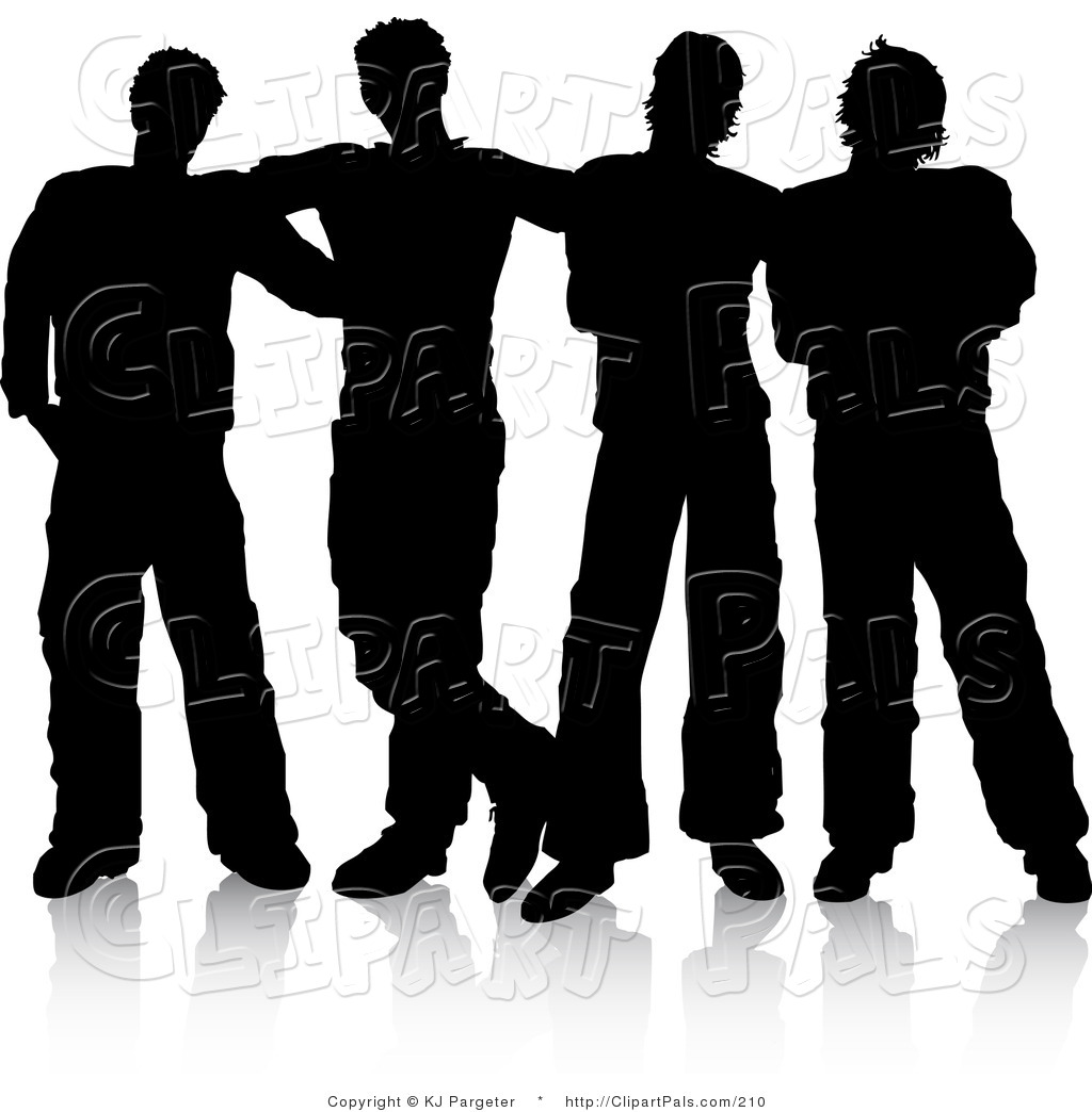 Group Of Men Clipart - Clipart Suggest