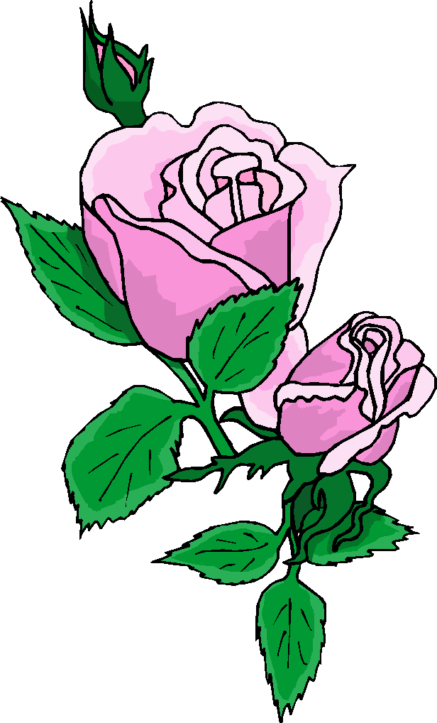 Purple Rose Flower Clipart Get This Purple Rose Flower Clipart