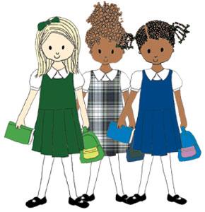Clip Art Uniform Clipart school uniform clipart kid uniforms