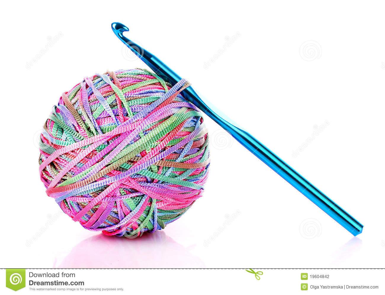 Нитки для вязания крючком фото