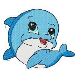 Cute Dolphin Clipart - Clipart Suggest