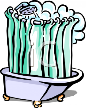 Taking A Shower Clipart - Clipart Suggest