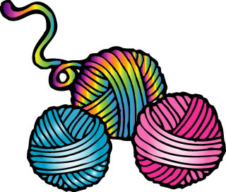 Crochet Yarn Clipart - Clipart Suggest