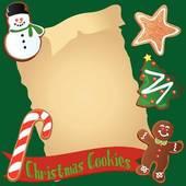 Cookies Christmas Bord...