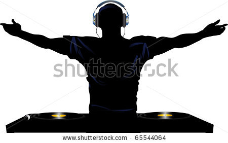 Dj Silhouette   Item 3   Vector Magz   Free Download Vector Graphics