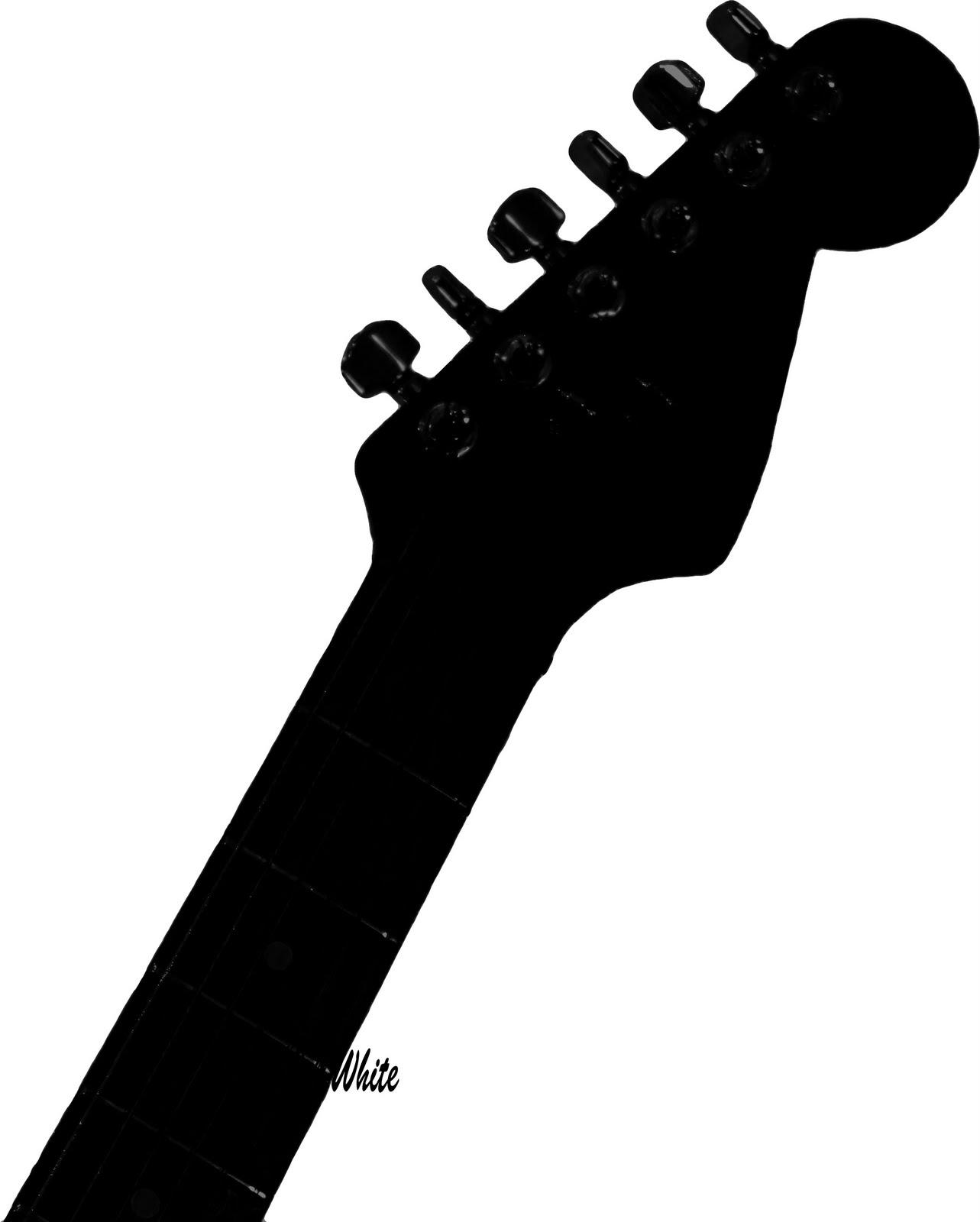 Guitar Silhouette Clipart - Clipart Suggest