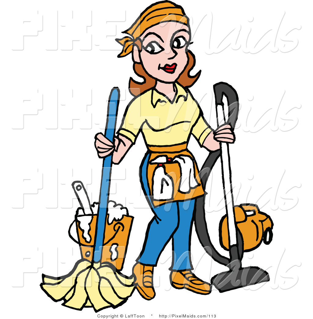 Housekeeping Clipart Housekeeper Clipart Profession Clipart ...