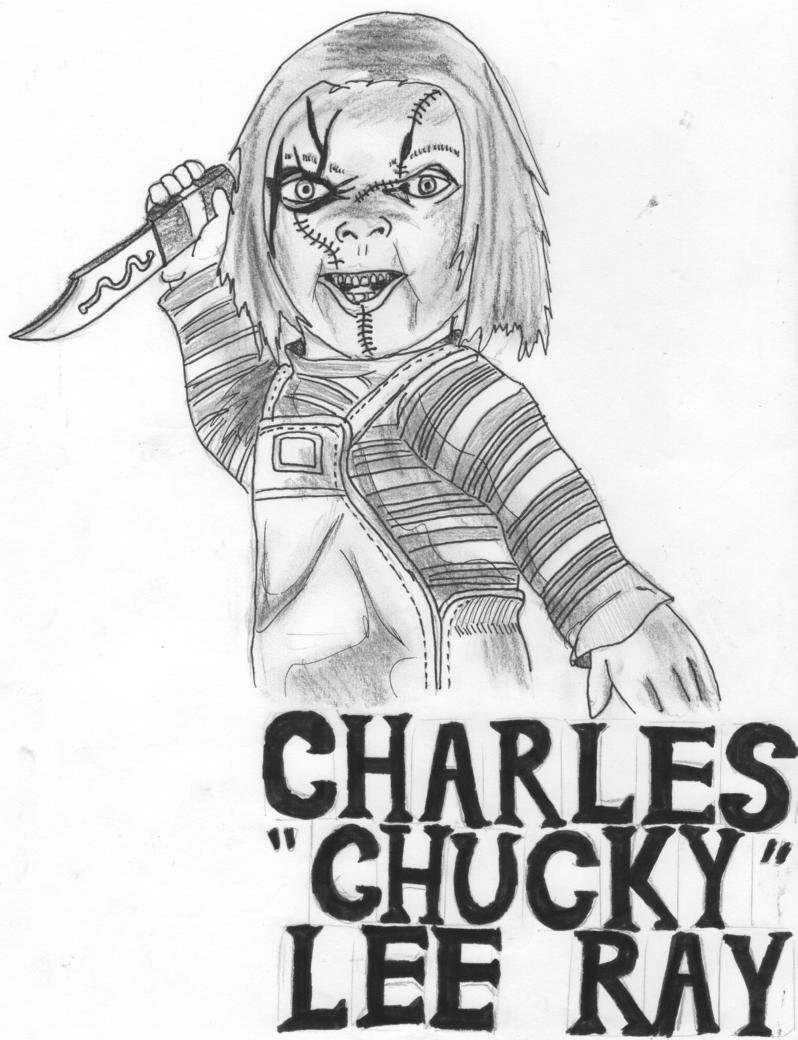 How To Draw Chucky From Childs Play Step 1 1 000000002860 3jpg   Apps