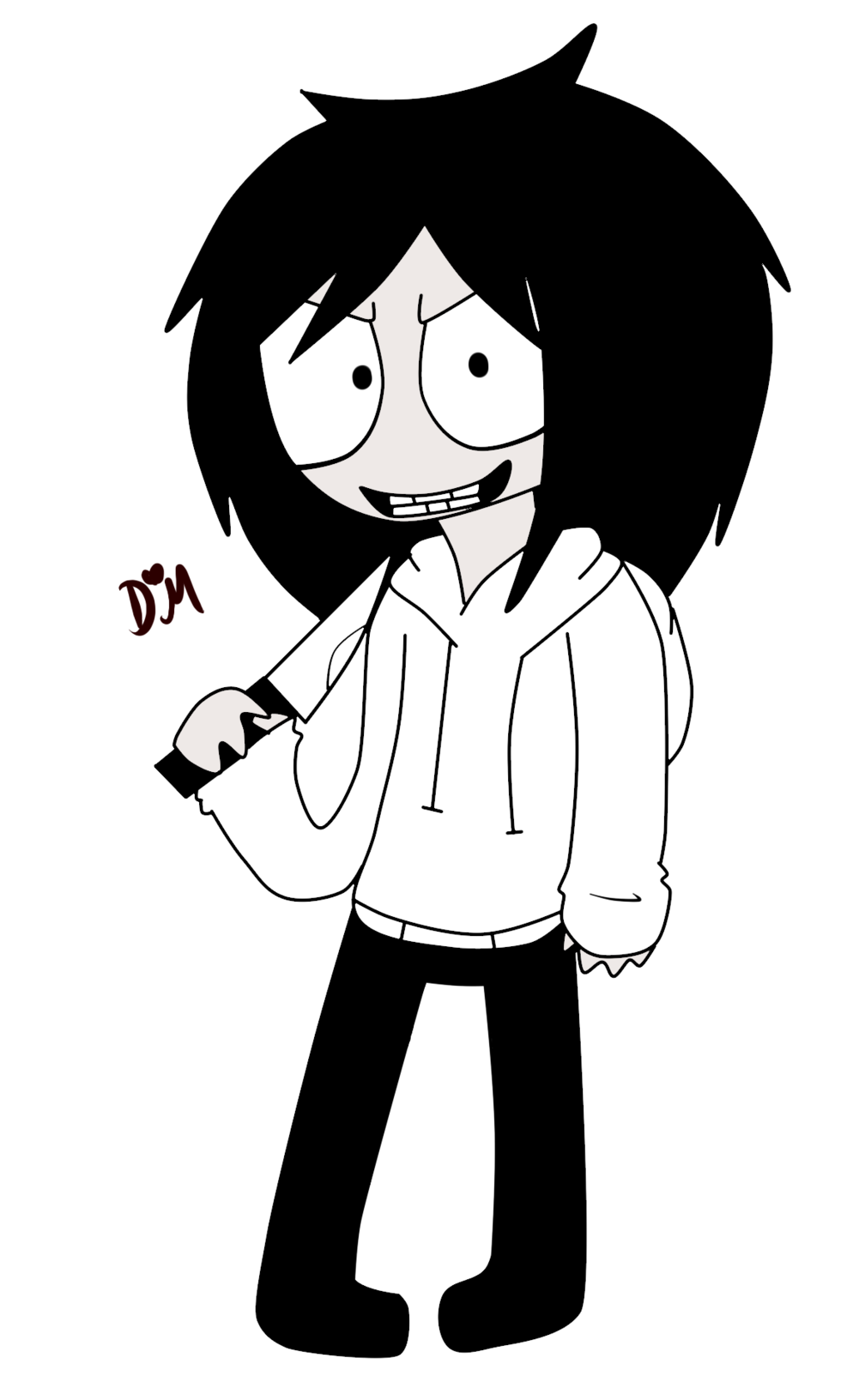 Jeff The Killer Pasta Monsters Clipart