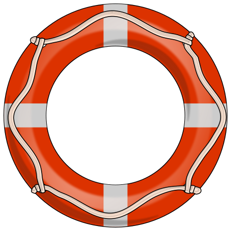 Clip Art Life Preserver Clipart life preserver clipart kid recreation boating png html