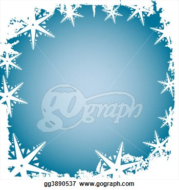 Stock Illustrations   Frosty Border  Stock Clipart Gg3890537   Gograph