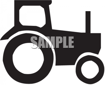 Tractor Black Clipart - Clipart Kid
