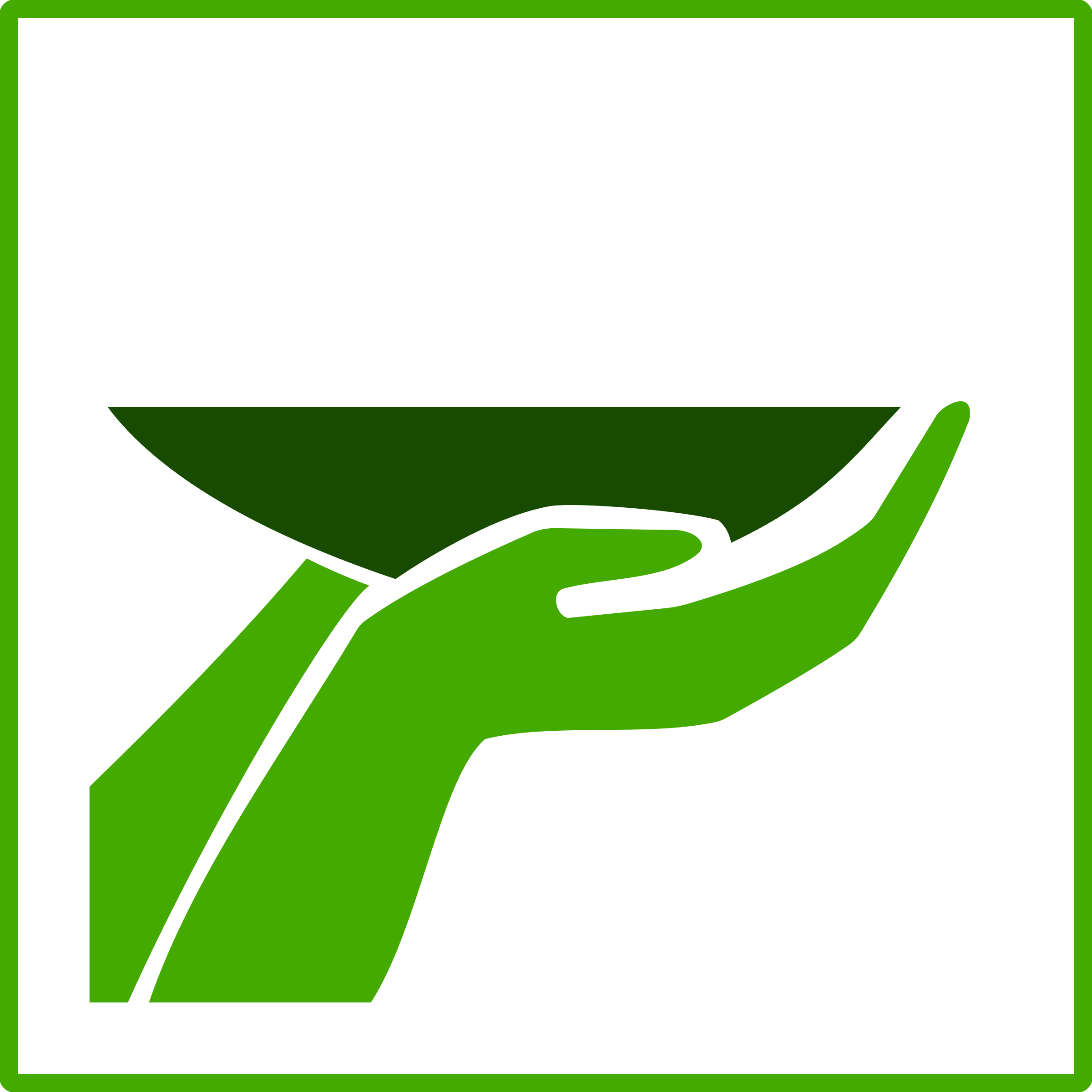 Eco Green Food Icon