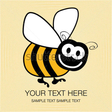 File Browse   Animals   Wildlife   Bumble Bee Design With Copy Space