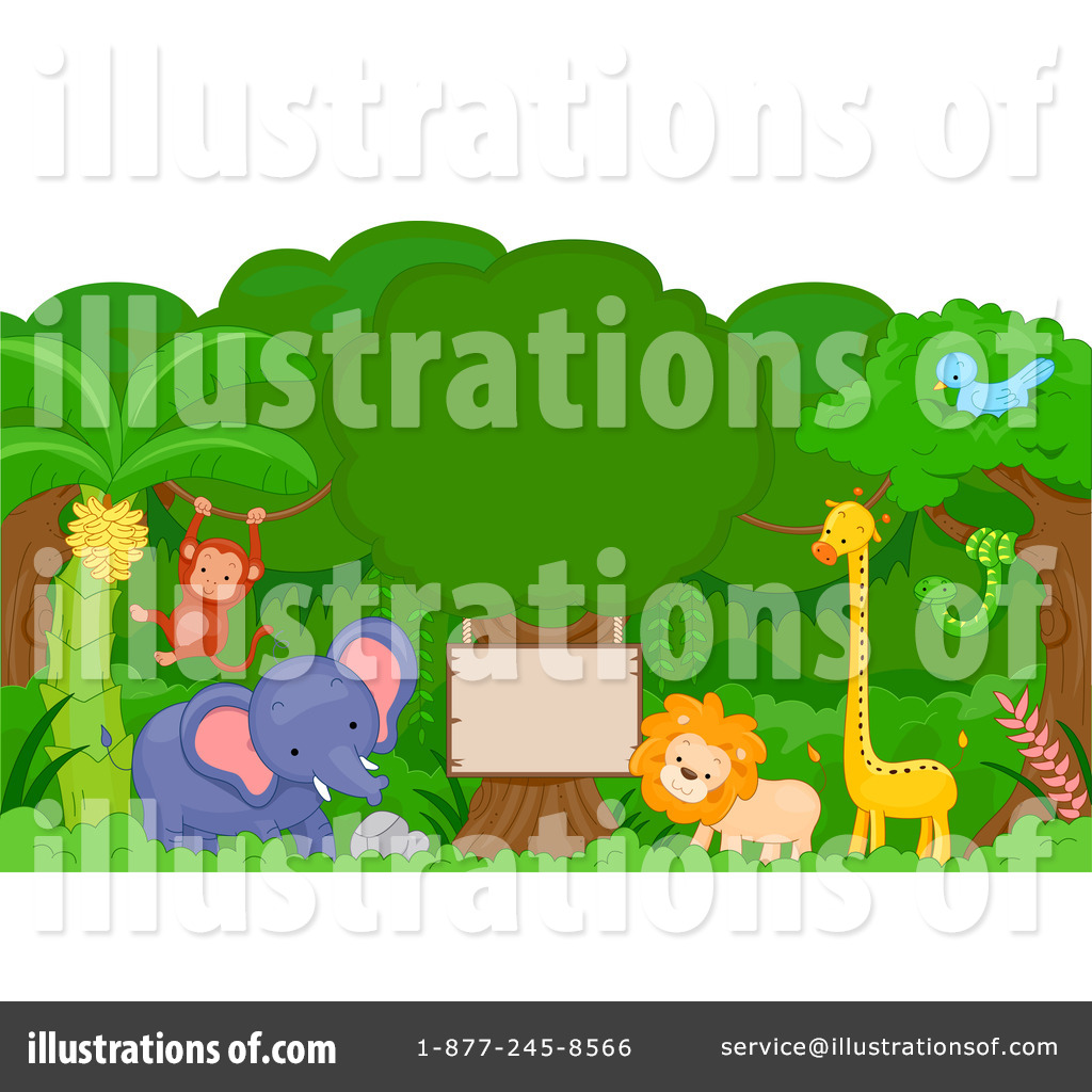 Wildlife Clipart  1063484   Illustration By Bnp Design Studio