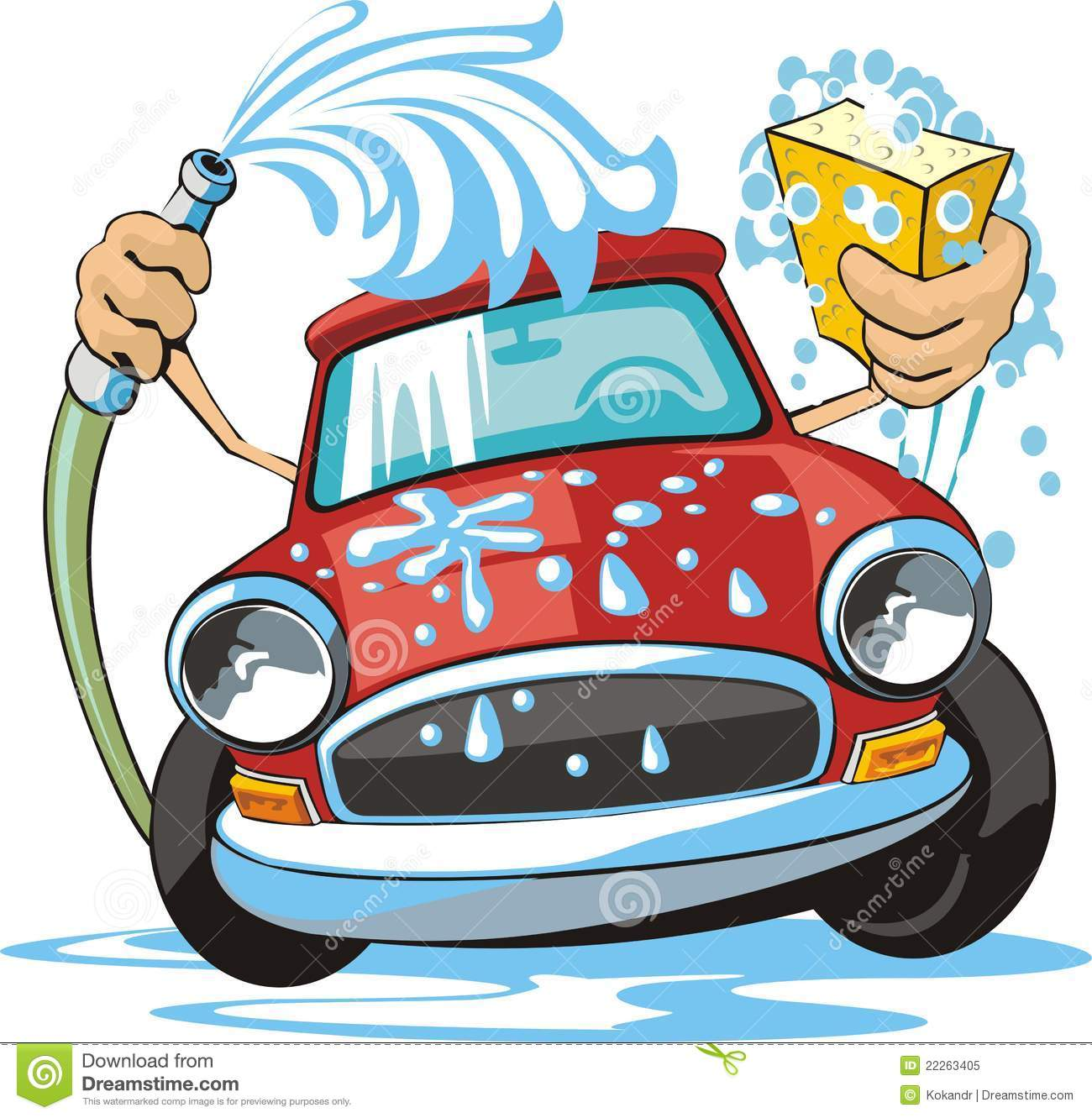 free cartoon car wash clipart - photo #7