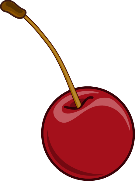 Clip Art Cherries Clipart cherry clipart kid with stem clip art at clker com vector online
