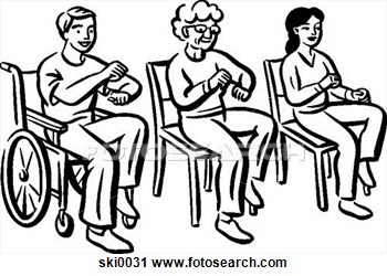 Clipart   Light Exercising B W  Fotosearch   Search Clipart