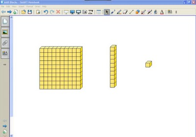 Base Ten Blocks For Smartboard Clipart - Clipart Kid