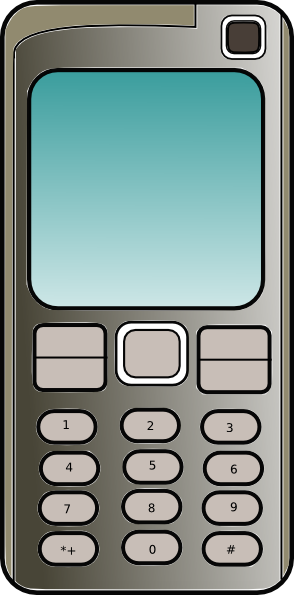Free To Use   Public Domain Mobile Phones Clip Art