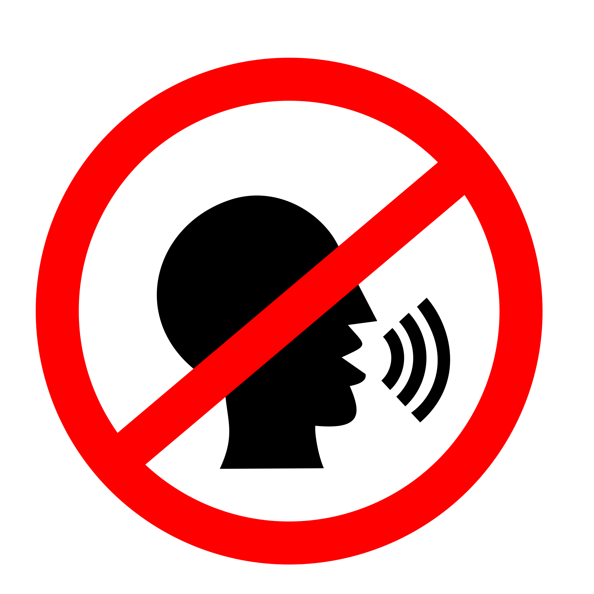 No Talking Clipart - Clipart Suggest
