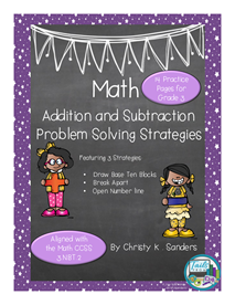 Picture Of Math  Addition And Subtraction Problem Solving Strategies