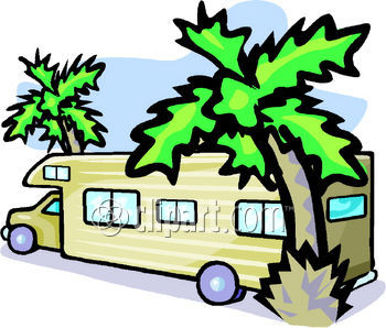 Rv Mobile Home Clipart   Cliparthut   Free Clipart