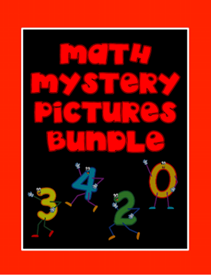 Show Details For Math Mystery Pictures On A Hundreds Grid Bundle Pack