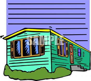 Single Wide Mobile Home   Clipart Panda   Free Clipart Images