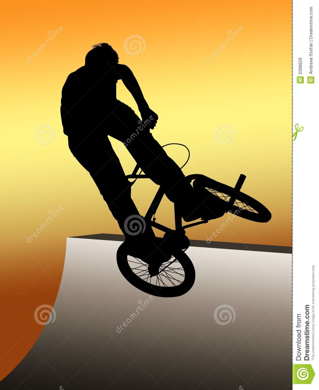 Teen Jumping With Bmx Bike Royalty Free Stock Images   Image  2396629