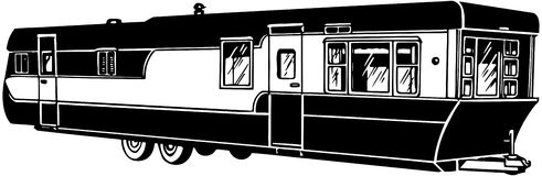 Trailer Home Clipart Mobile Home 2 Stock Images