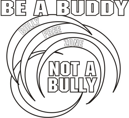 bullying black and white clipart clipart suggest
