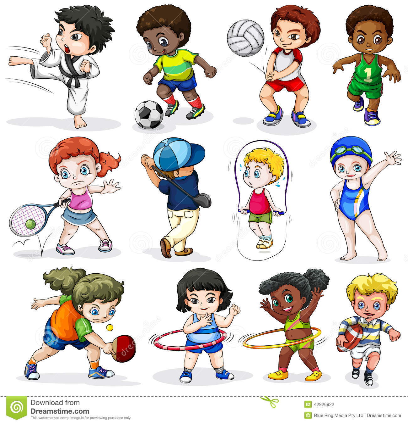 Outdoor Sports Clipart - Clipart Kid