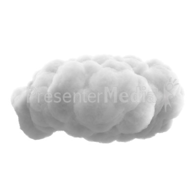 Fluffy Cloud   Presentation Clipart   Great Clipart For