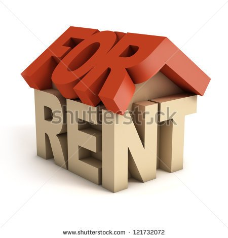 Rent Due Clipart House For Rent 3d Icon   Stock