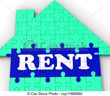 Rent Due Clipart Stock Illustration   Rent