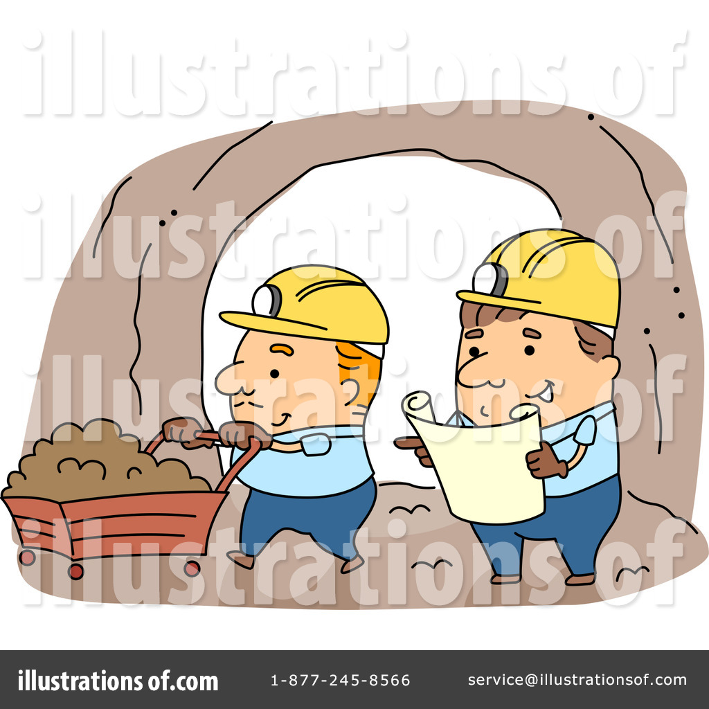 Royalty Free Mining Clipart