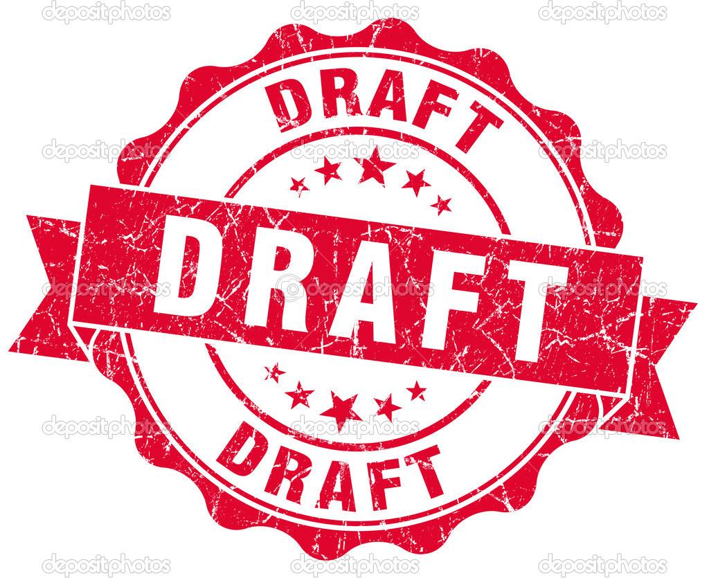 free clipart draft stamp logo more
