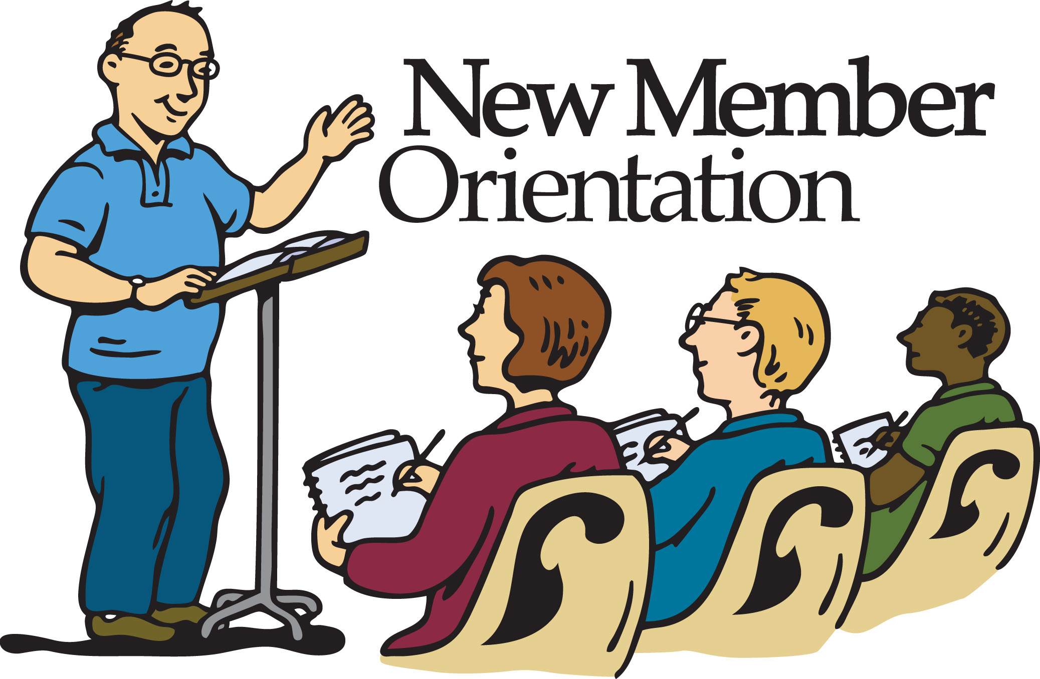 New Members Orientation Clipart - Clipart Kid