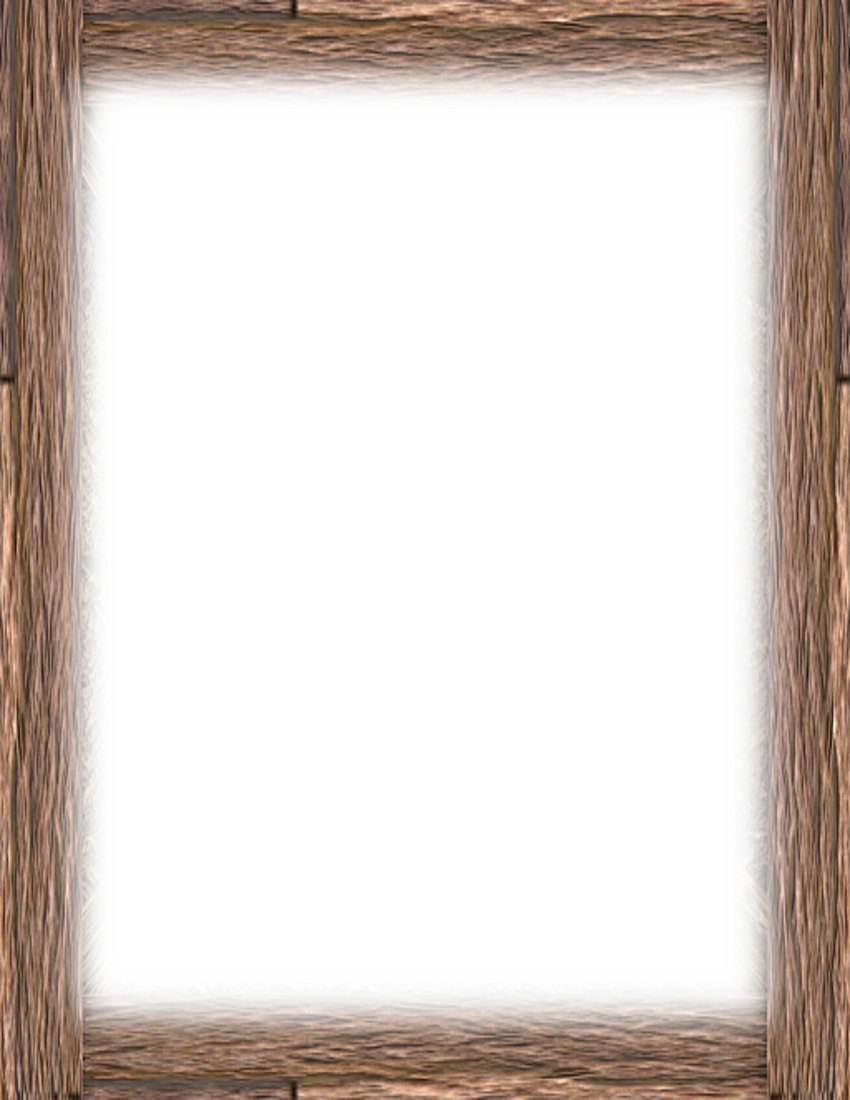 Rustic Wood Border rustic wood frame clipart - photo frames & pictures ...