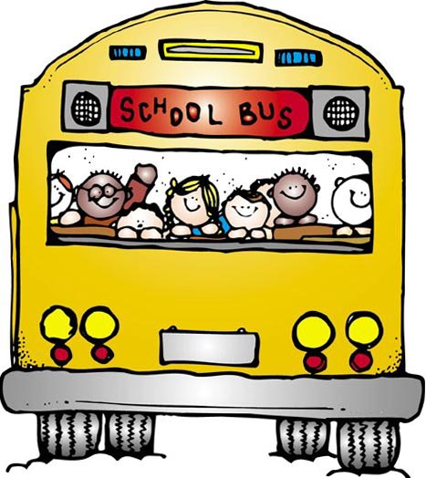 Clip Art Of A School Bus