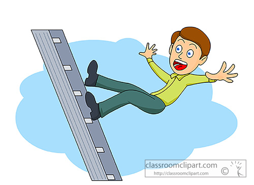 Ladder Safety Clipart Clipart Suggest