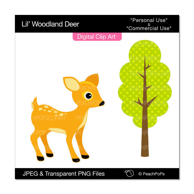 Cute Baby Deer Clipart   Clipart Panda   Free Clipart Images